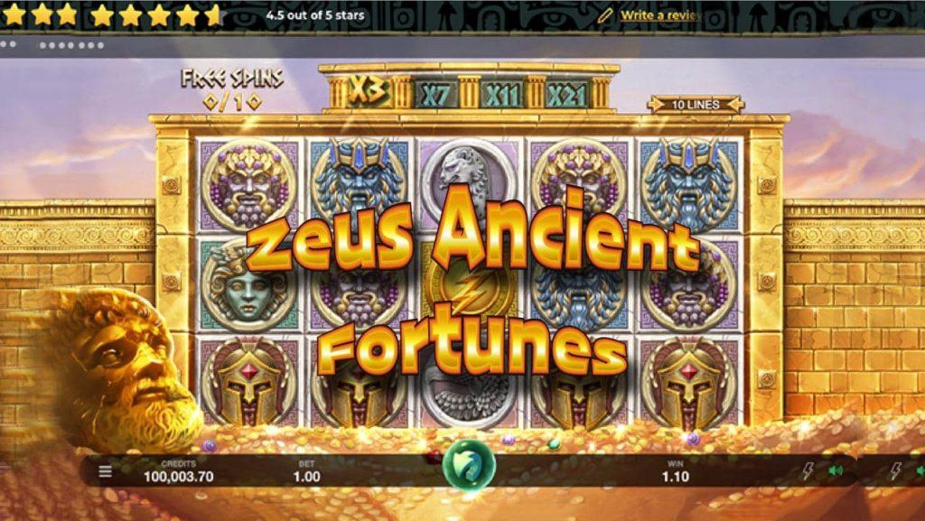 สล็อตค่าย MG สล็อต Zeus Ancient Fortunes