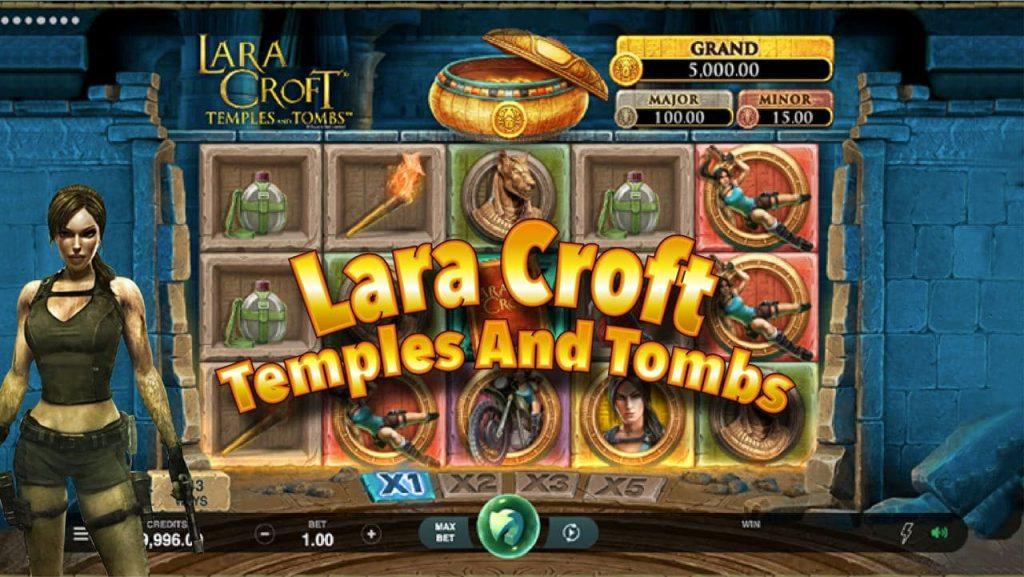 สล็อตค่าย MG สล็อต Lara Croft Temples And Tombs