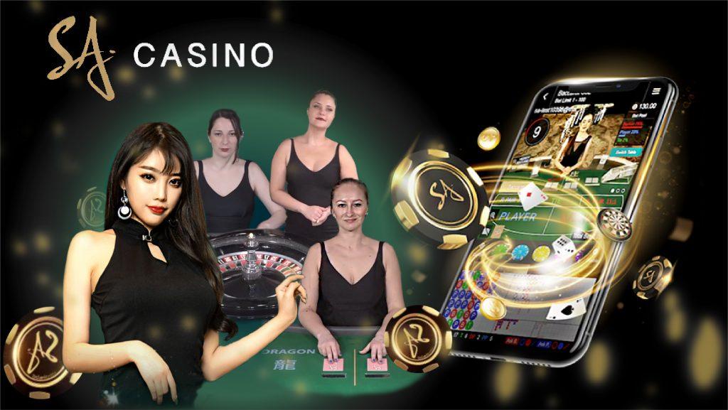 สล็อตค่าย SA Gaming casino ค่าสิโนชั้นนำของไทย