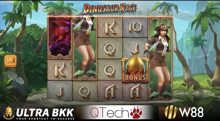 สล็อตค่าย QTech Dinosaur Rage