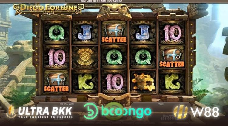 สล็อตค่ายใหม่ BNG Slot Diego Fortune